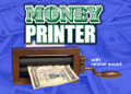 Money Printer w/ Handle, Clicker