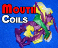 Mouth Coils - Rainbow, 32 Ft Chain