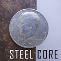 Steel Core Coin - Half Dollar