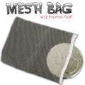 Mesh Coin Bag W/ Jumbo Half