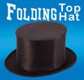Folding Top Hat- Silk