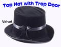 Top Hat w/ Trap Door - Velvet