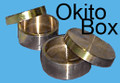 Okito Coin Box - Brass