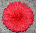 Cameroon Juju Hat:  Red 19 inch