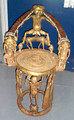 Bamoun Bronze and Ivory Kings Throne