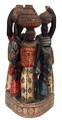 Ivory Coast Colonial Era Group Statue