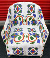 "Nigerian Beaded Chair ""C"""