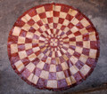 Circular Niger Leather Mat A