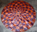 Circular Niger Leather Mat G