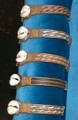 Burkina Faso Cowrie Shell Bracelet