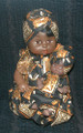 "Senegalese Mama and Baby: Doll Set ""C"""