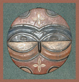 "Teke Tsaye Mask ""A"""