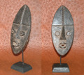 Miniature Masks w Stands: Grebo Tribe Mask (H)