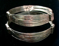 Silver Elephant Hair Bracelet