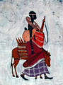 Maasai Batik: Water Bearer
