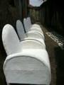 "Nigerian Beaded Chair ""G"""