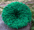Cameroon Juju Hat: Regular: Green