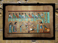 Egyptian Papyrus Art: Weighing of the Heart from the Book of the Dead of Ani