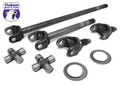 "Yukon 4340 Chromoly axle kit for '03-'08 Chrysler 9.25"" front."