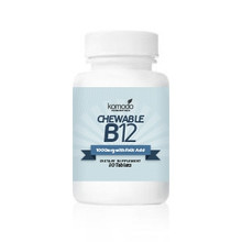 Chewable B12 (30 count bottle)