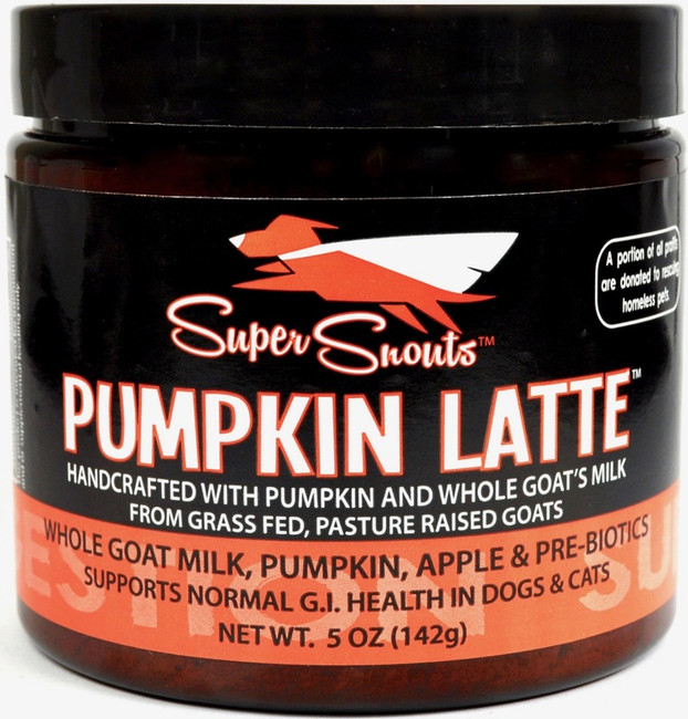 Super Snouts Pumpkin Latte 5 oz