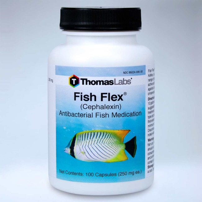 Fish Flex - Cephalexin - 250mg 100 ct