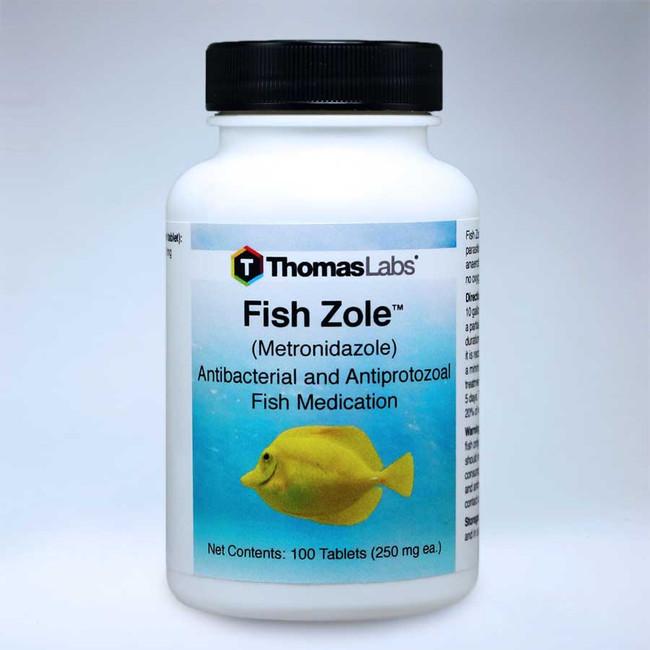 Fish Zole - Metronidazole - 250mg 100 ct