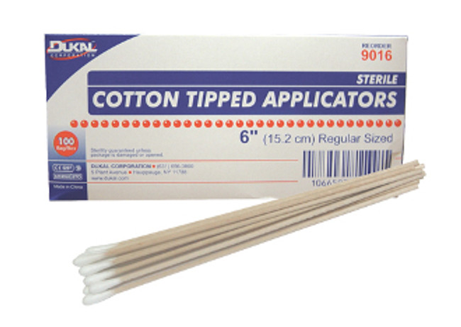 "Cotton Tip Applicator 6"" 100ct"