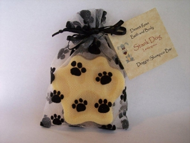 Doggie Shampoo Bar  Lemon Grass