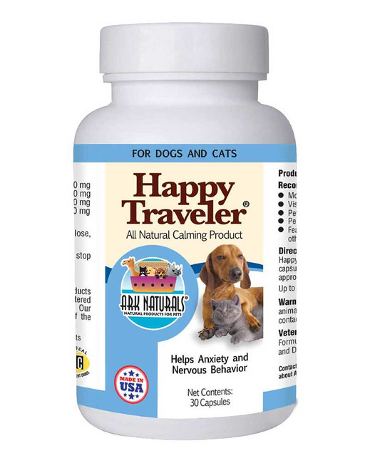 Happy Traveler Capsules by Ark Naturals