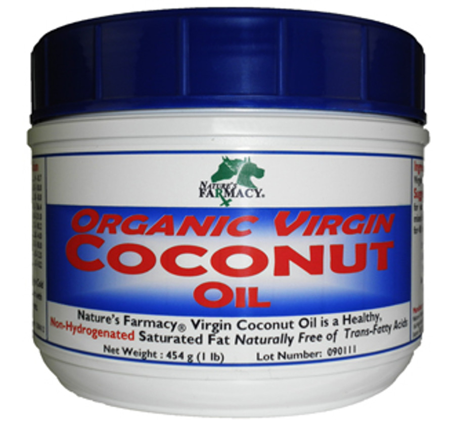Nature's Farmacy Extra Virgin Coconut Oil 1 Pound