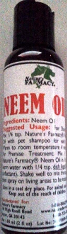 Nature's Farmacy Neem Oil  60ml