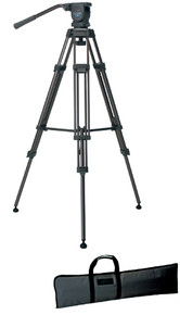 Libec Video Tripod System with Brace and Carrying Case