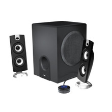 Cyber Acoustics Subwoofer and Satellite Speaker System