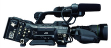 JVC ProHD Camcorder with Canon 14 x 4.4MM Lens