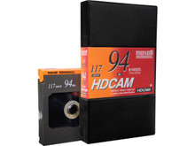Maxell HDCAM 94 Minute Large Shell Blank Video Tape