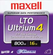 Maxell LTO Ultrium 4 Tape Cartridge