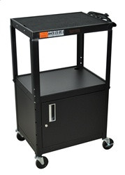H.Wilson Adjustable Height Utility Cart