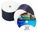 TaiyoYuden DVD-R White Inkjet Watershield Discs, 50 per Pack