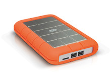 Lacie Rugged Triple Interface 1 TB Portable Hard Drive