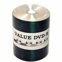 TaiyoYuden DVD-R Valueline Silver Thermal Laquer Discs, 100/