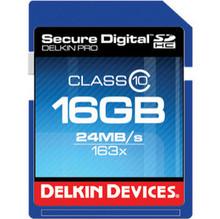 Delkin SDHC 16 GB Memory Card