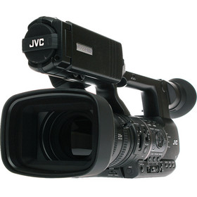 JVC GY-HM650 ProHD AVCHD  long (23x) wide angle lens mobile news Camera