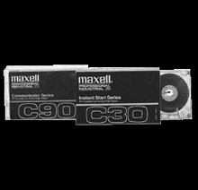 Maxell Communicator 90 Minute Blank Audio Cassette