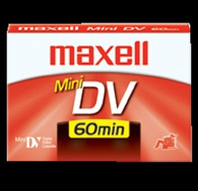Maxell 60 Minute Mini DV Video Tape
