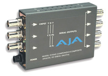 Aja Component or Composite Analog to SDI Converter