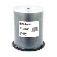 Verbatim CD-R 80 Minute White Inkjet Hub Printable Discs