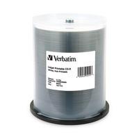 Verbatim CD-R 80 Minute White Inkjet Hub Printable Discs