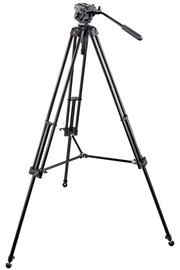 Bogen Tripod System with 701HDV Head and 547B Tripod