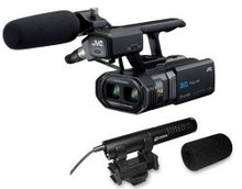 JVC ProHD 3D Camcorder Package